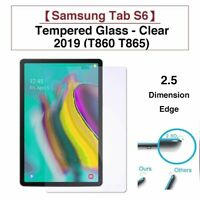 100% Tempered Glass Screen Protector Cover For Samsung Galaxy Tab S6 T860 T865