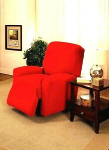 """""""DON'T PASS UP""""    RED  COVERS FOR RECLINERS SOFAS COUCHES LOVESEATS & CHAIRS  E"""