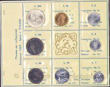 1969 Italia Serie divisionale FDC 500 Lire argento Repubblica italiana