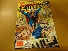 COMIC BALDAKIJN DC / SUPERMAN N° 25