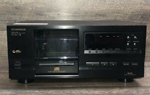 Pioneer PD-F407 25 Disc File Type CD Changer Player Tested Works No Remote
