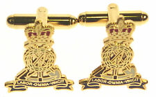 PIONEER CORPS CLASSIC HAND MADE GOLD PLATED CUFFLINKS