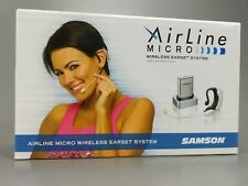 Samson AirLine Micro Uhf Wireless Earset Microphone Mic wTransmitter+Receiver
