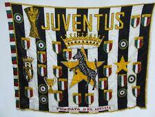 SCIARPA CALCIO BANDIERA FLAG ULTRAS JUVENTUS RASO (759)