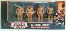 Stranger Things Ghostbusters Action Figure Set NEW