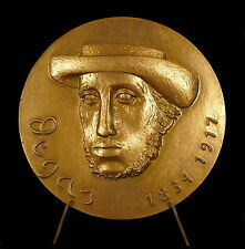 Médaille Peintre painter Maler Degas Hilaire Germain Edgar de Gas 72 mm Medal