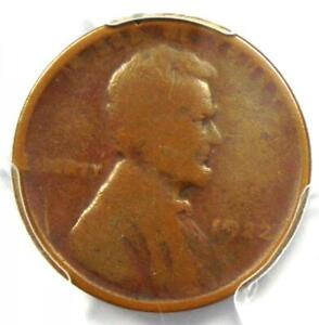 "1922 No D ""Plain"" Strong Reverse Lincoln Wheat Cent Penny 1C - PCGS Genuine!"