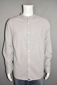 UNTUCKIT NEW $128 Banylus Gray Long Sleeve Button Down Shirt Men's Regular XXXL