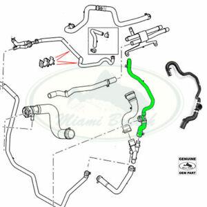 LAND ROVER COOLANT WATER HOSE RANGE 4.4L V8 06-09 PCH502080 OEM