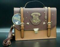HARRY POTTER Hogwarts 9 3/4 Schultertasche Tasche Koffer Handtasche Bag Braun
