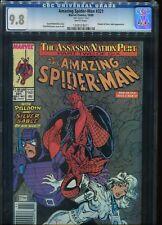 Amazing-Spiderman # 321 CGC 9.8 Mark Jewelers Insert Newsstands UPC Variant Ed