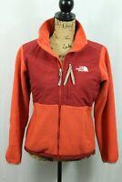 THE NORTH FACE Women's Denali Jacket S Polartec Wind Block Fleece Jacket Orange