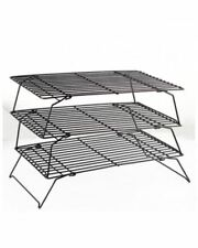 Brand New Heavy Duty & Stainless Steel 3 Tier Non-stick Cake Cooling Silver Rack