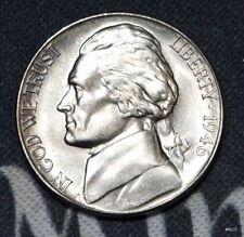 1946-S BU Jefferson Nickel Free Shipping  Satisfaction Guaranteed!