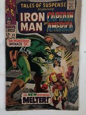 Marvel, Tales of Suspense, Iron Man, and Captain America # 89, MAY 1967
