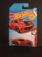 2019 Hot Wheels Chevy '18 COPO Camaro SS Muscle Mania 1:64 Orange #71/250 New