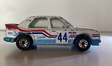 Matchbox Superfast No. 44 Skoda 130 LR Red & Blue Tampo Properly Rallyed