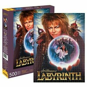 Aquarius Officially Licensed Labyrinth Designed 500p-piece Fun-filled Puzzle NEW