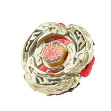Spinning Top Beyblade GOLD L-DRAGO DESTROY DF105LRF With Launcher & Rip Cord
