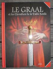 Livre Enfant  * LE GRAAL ET LES CHEVALIERS DE LA TABLE RONDE *   !!