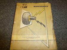 LeTourneau F1304 Log Stacker Operator Maintenance & Shop Service Repair Manual