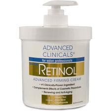 Advanced Clinicals Retinol Firming Cream 16 oz. Spa Size Pump NEW Sealed