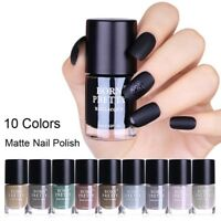 9ml Matte Dull Nail Polish  Nail Art Varnish Polish BORN PRETTY 9 Colors