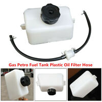 Gas Petrol Fuel Tank Plastic Oil Filter Hose 2Stroke 43cc 47 49cc Bike ATV Motor