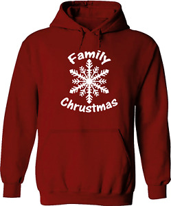 Family Christmas Snow Xmas Holiday Cool Gift Pullover Sweatshirt Hoodie Sweater
