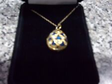 House of Faberge Imperial Collectors Egg Pendant - Franklin Mint