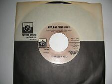 Frankie Valli - Our Day Will Come / You Can Bet  45 Private Stock VG 1975