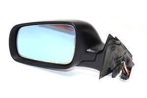 Audi A4 B5 Spiegel Außenspiegel links elektrisch schwarz matt bis ca. 1999 c