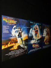 RETOUR VERS LE FUTUR  Back to the Future 1.2.3 ! affiche cinema cars delorean