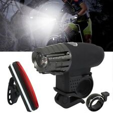 Bike Bicycle  Front Rear Lights Cycling Head MTB Tail Lamp USB Rechargeable Set