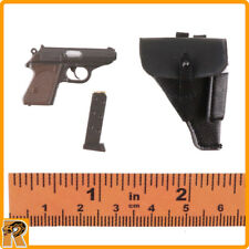 Female SS Officer - PPK Pistol w/ Holster - 1/6 Scale - Very Cool Action Figures