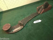 "Unusual VINTAGE Wood Foundry Industrial Pattern Mold 28"" LONG LEVER (228)"