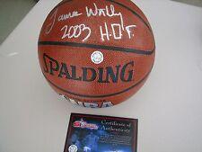 James Worthy Autographed Basketball - SI