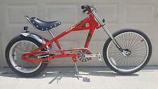 "Schwinn Stingray Bike OCC Chopper Red/Black 20"""