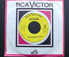 """7"""" Henry Mancini - Magnificent Seven/ Springtime For H. - US RCA Promo"""