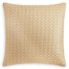 New listing Hudson Park Ethereal Embroidered Euro Pillow Sham Gold $200