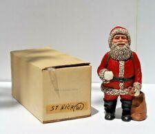 Vintage Martha Holcombe All God's Children 1988 Santa Claus St. Nicholas No. 134