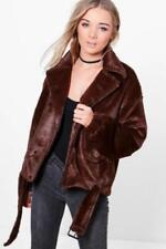 Cappotti e giacche da donna marrone Pelliccia Taglia 40