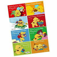 Eric hill Spots Story Collection 8 Books Set Fun with Spot Says Brand NEW