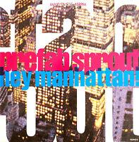 """Prefab Sprout 12"""" Hey Manhattan! - Holland (VG+/EX)"""