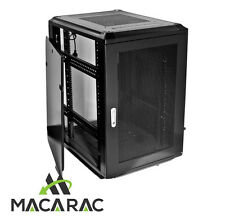"18U 800mm DEEP SERVER / DATA CABINET (19"" Rack / Incl. 4 x 240vAC Fans)"
