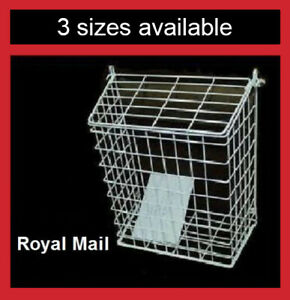 Letterbox Cage Letter Basket Guard Door Mail Box Cather Post Wire Protector LC03