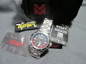 Unused Sold Out RGMT Trans-Continental Automatic Watch