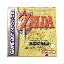 The Legend Of Zelda Four Swords - Boxed Nintendo Game Boy Advance Game VGC