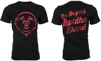 TRUE RELIGION Mens T-Shirt ORIGINAL BUDDHA Black with Red Print $89 Jeans NWT