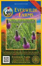2000 Purple Prairie Clover Wildflower Seeds - Everwilde Farms Mylar Seed Packet